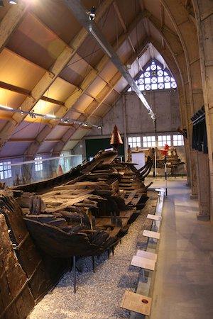 Vergane schepen bij Batavialand